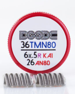 Squidoode Pro-Made Framed Staple coil