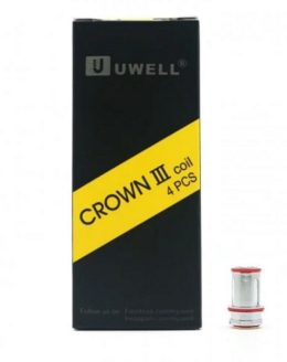 Crown III (3) Coils 4 Pack