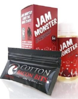 Jam Monster Strawberry E-Liquid