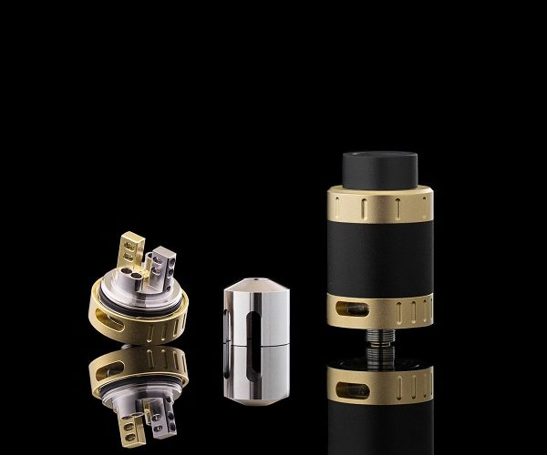 Kilted RDA Black and gold finish
