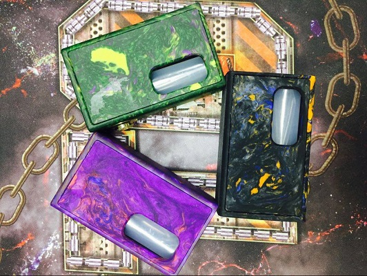 Ram Box Mod Resin colors