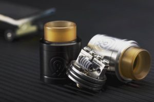 Vaporous RDA Black and SS