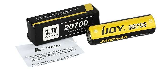 ijoy 20700 battery with box