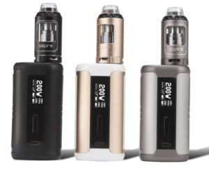Aspire Speeder Kit all colors