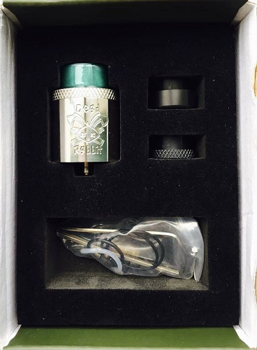 Dead Rabbit RDA inside of Box