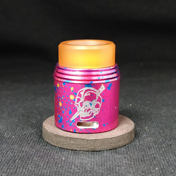 RAPTURE RDA by ARMAGEDDON MFG Red Cotton Candy
