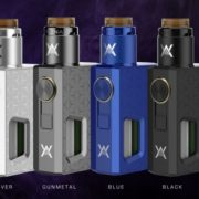 Athena Squonk Kit by Geekvape in blue, silver, gunmetal and black