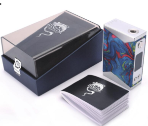 Basilisk Box Mod by Stentorian Blue with Box