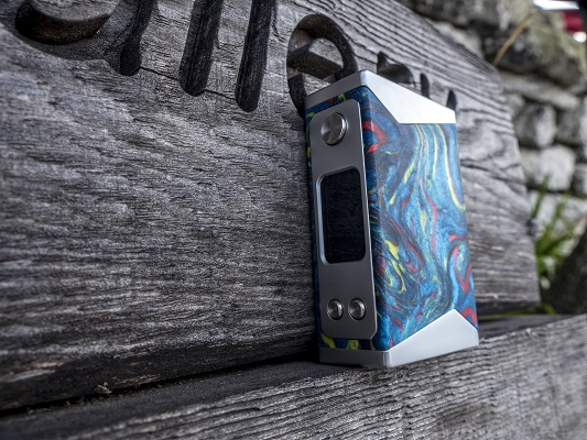 Basilisk Box Mod by Stentorian Blue