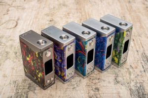 Basilisk Box Mod by Stentorian all colors