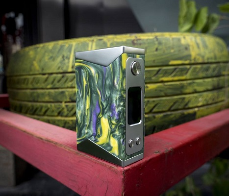 Basilisk Box Mod by Stentorian green