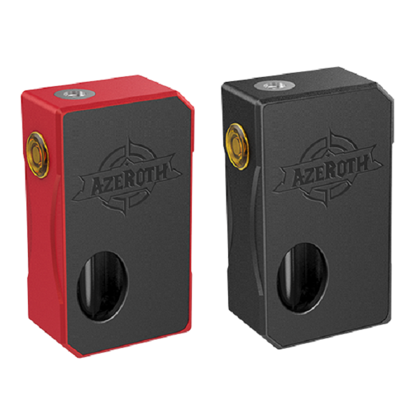 Coilart Azeroth Squonk Mod in Black and Red