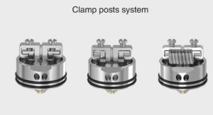 Iconic RDA Post clamp system