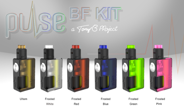 Pulse BF Kit by Vandyvape all frosted colors