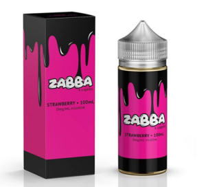 Zabba E-Liquid Strawberry