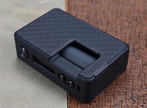 Pulse 80w by Vandy vape laying on its side
