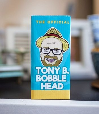 Tony B Vape Reveiwer Bobble Head