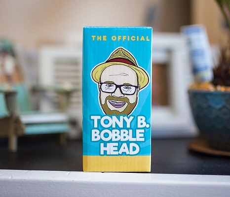 Tony B bobble front box