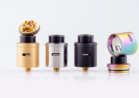 Aequitas RDA by Hellvape all colors