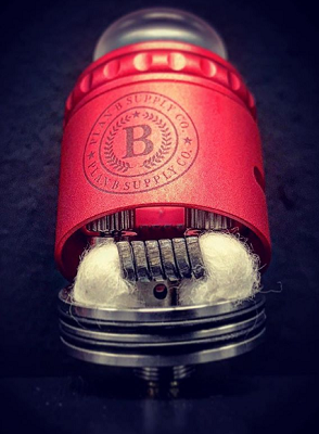Doc RDA by Plan B Supply Co Red with build